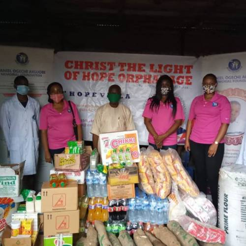DOAM Foundation commemorates May 27 Nigerian children's Day with a 2-days de-worming and vitamins supplement program for less privileged children in Lagos and Ogun State