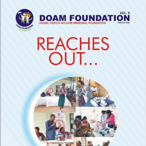 Doam Foundation Newsletter 2020